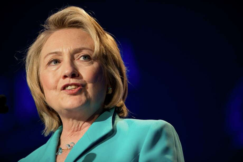As a student at Wellesley College, Hillary Rodham Clinton was a Republican. And she has written about working unsuccessfully to get Nixon elected in 1960 and Goldwater in 1964. She switched parties in 1968, citing the Vietnam War and Nixon's 1968 campaign. Photo: Daniel Acker, Bloomberg / © 2013 Bloomberg Finance LP