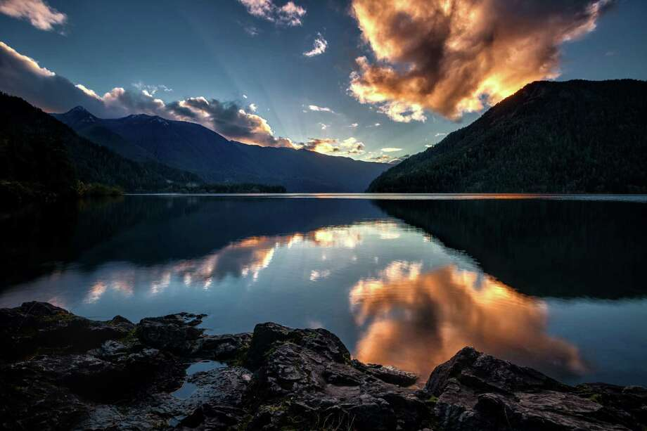 Sunset at Lake Crescent, Olympic National Park Photo: Michael Riffle, Getty Images/Flickr RF / Flickr RF
