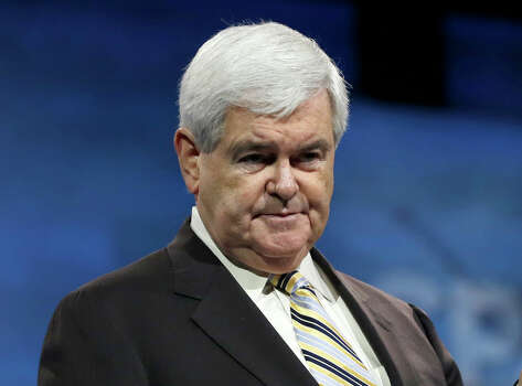 CNN's 'Crossfire' has been canceled... again. Newt Gingrich (pictured) was one of the conservatives on the new 'Crossfire,' which was a reboot of the original version which ran from 1982-2005. The latest incarnation only lasted for little over a year this time around, and was reportedly canceled due to layoffs at the network.  Photo: Carolyn Kaster, STF / AP