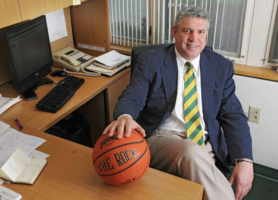 Siena basketball head coach Jimmy Patsos sits in his office on Tuesday, May 14, 2013 in Loudonville, N.Y. (Lori Van Buren / Times Union) Photo: Lori Van Buren / 00022409A