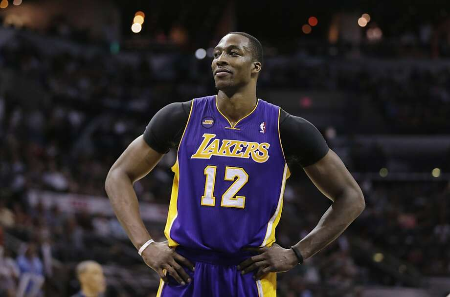 Dwight Howard met with the Lakers on Tuesday. The big man is expected to choose a destination by the end of the week. Photo: Eric Gay, Associated Press