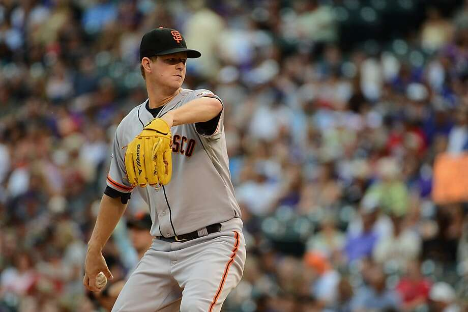 Matt Cain was glad to see his good friend Ryan Vogelsong re-sign with the Giants. Photo: Garrett Ellwood, Getty Images