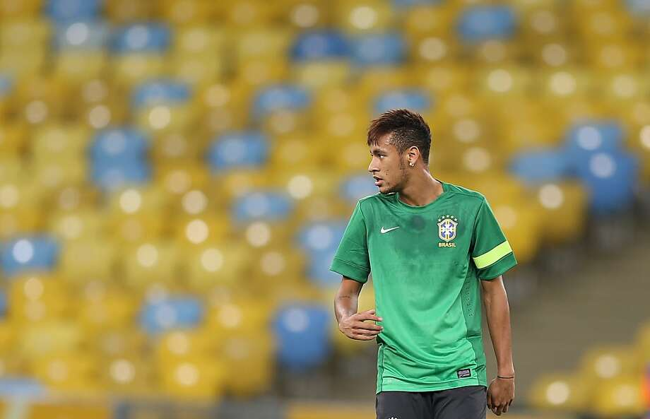 "Brazil striker Neymar says the whole world will be watching his team take on Spain: ""It's the match everyone wanted."" Photo: Andre Penner, Associated Press"