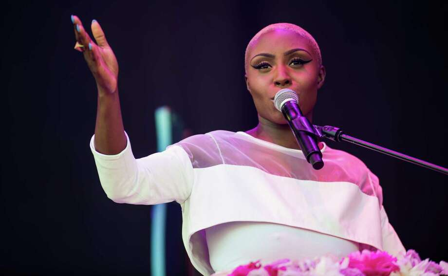 Laura Mvula performs on the Pyramid Stage during day 3 of the 2013 Glastonbury Festival at Worthy Farm on June 29, 2013 in Glastonbury, England. Photo: Ian Gavan, Getty Images / 2013 Getty Images
