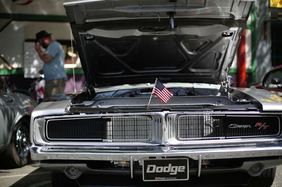 A Dodge Charger is shown during the Greenwood Car Show on Saturday, June 29, 2013 in Seattle. The annual show is the largest single-day car show in the state. Photo: JOSHUA TRUJILLO, SEATTLEPI.COM