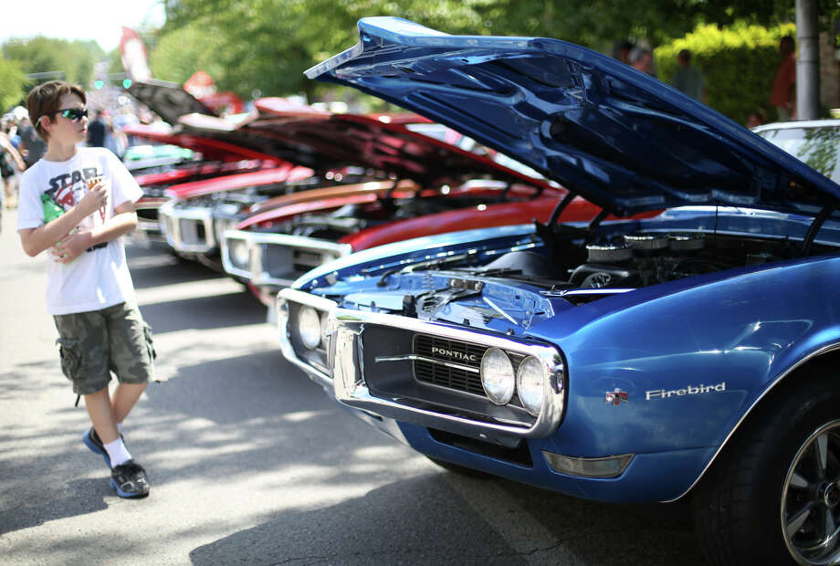 A Pontiac Firebird is shown during the Greenwood Car Show on Saturday, June 29, 2013 in Seattle. The annual show is the largest single-day car show in the state. Photo: JOSHUA TRUJILLO, SEATTLEPI.COM