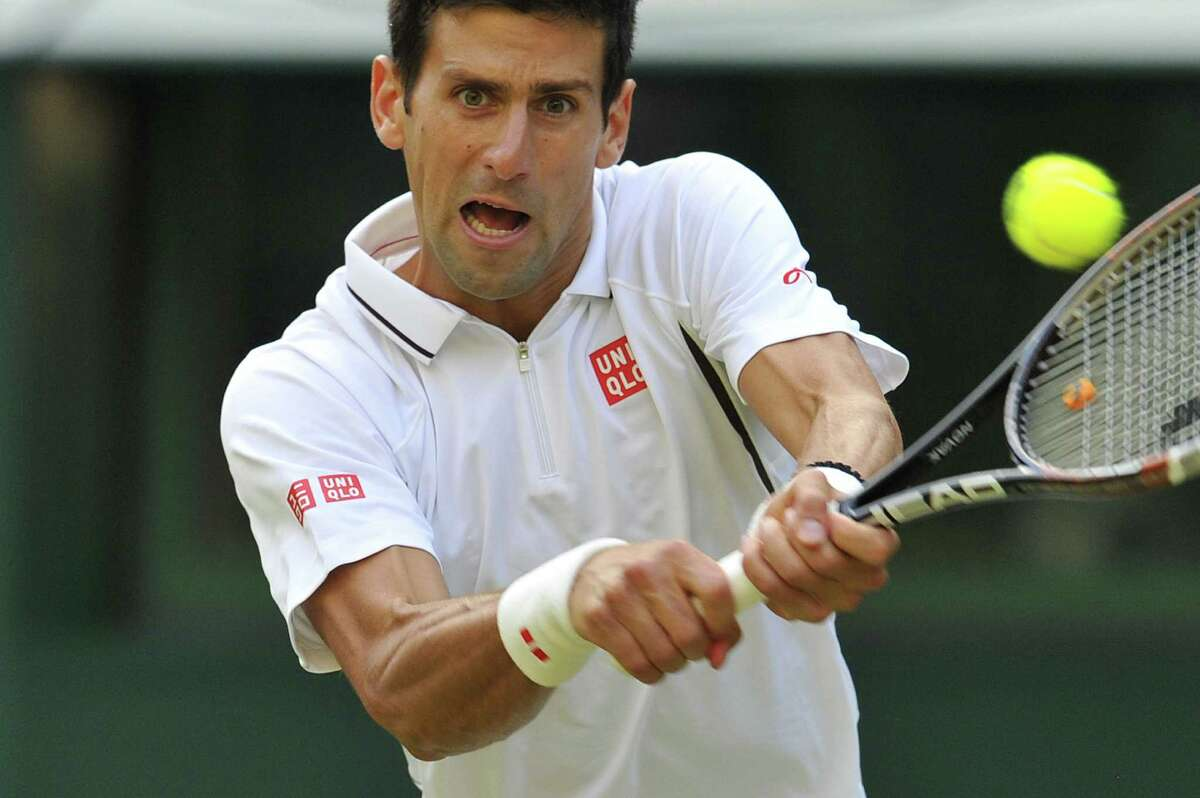 Novak Djokovic needed just 87 minutes to beat Jeremy Chardy 6-3, 6-2, 6-2 in the third round Saturday.