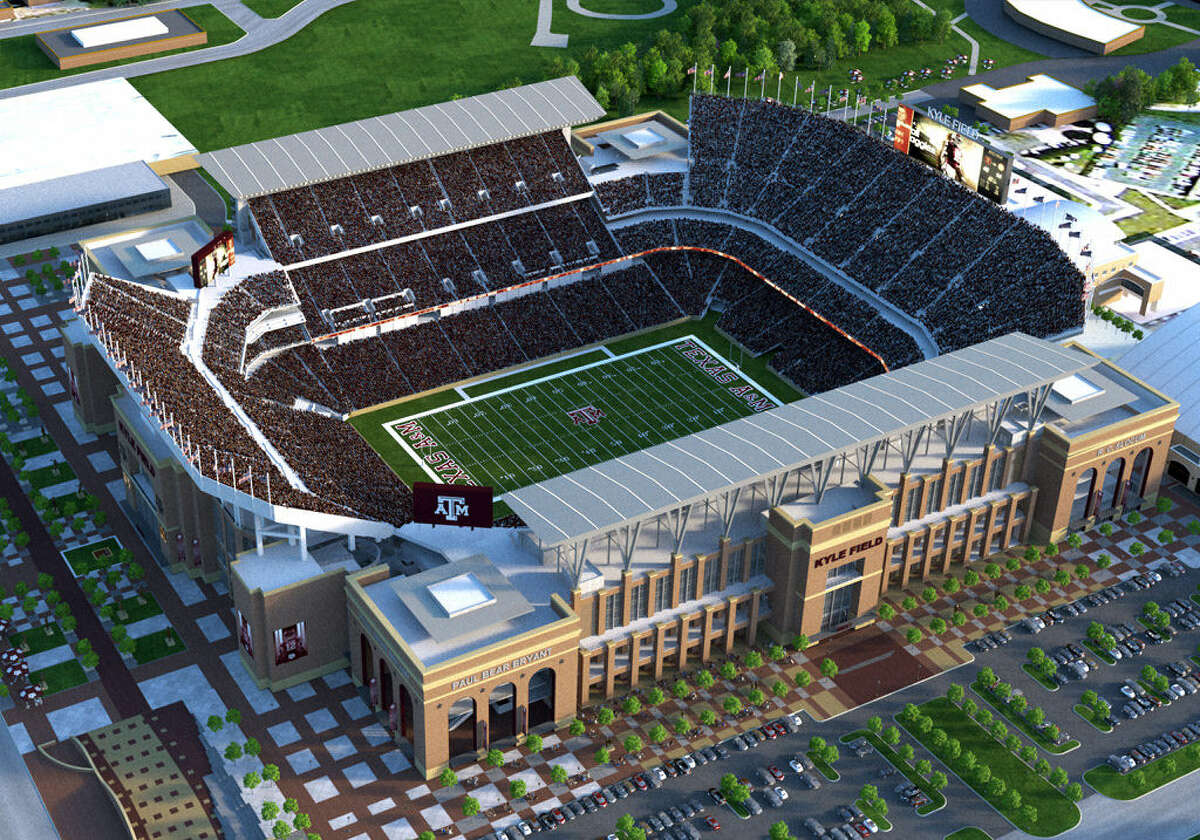 The new and improved Kyle Field is slated to seat 102,500, and Texas A&M officials are hoping it will be completed by August 2015.