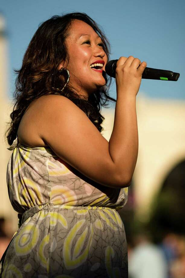 Rogue Pinay performs before the Seattle Dyke March Saturday, June 29, 2013, in Seattle. The march, held every year, intends to increase lesbian visibility and activism without focusing on labels, such as bisexual, intersex and transgendered women. Photo: JORDAN STEAD, SEATTLEPI.COM / JORDAN STEAD