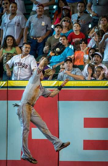 June 29: Angles 7, Astros 2 Josh Hamilton robbed a homer and t