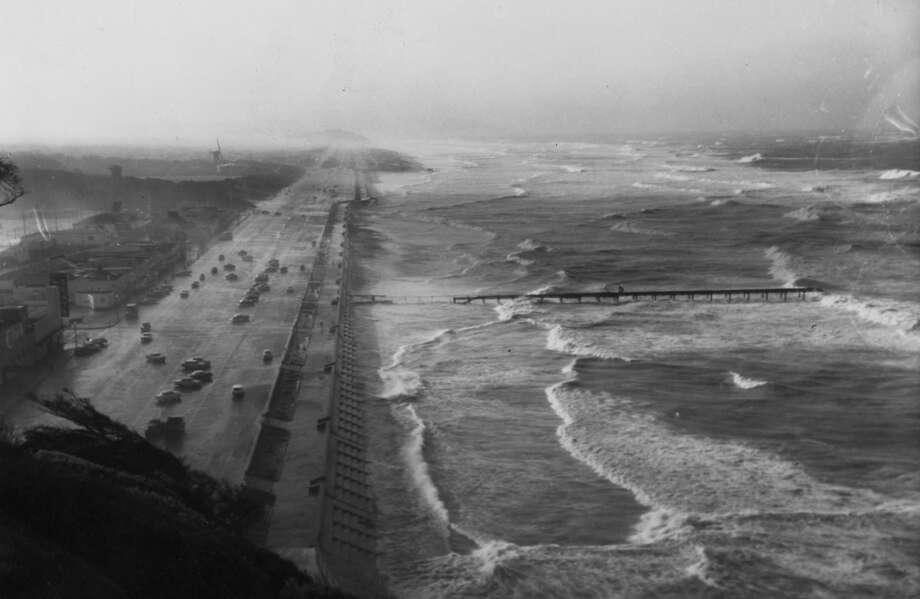 Ocean Beach. February 9, 1960.