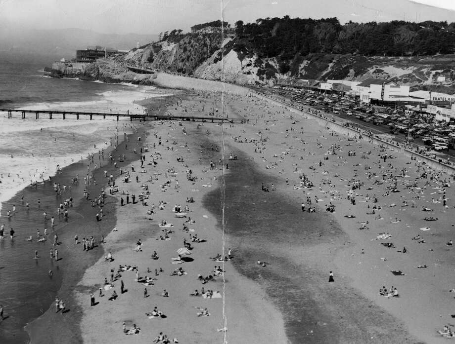 Ocean Beach from a different angle, September 9, 1951.