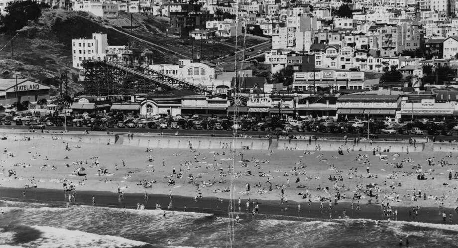 Ocean Beach. October 23, 1953.