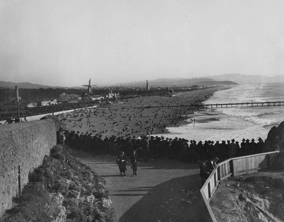 Ocean Beach, 1920's.