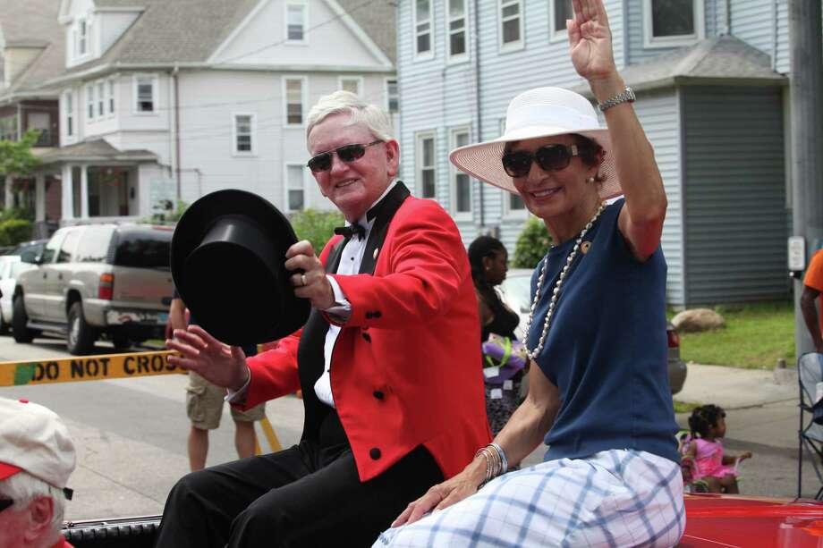 The Barnum Festival holds The Great Street Parade in Bridgeport, Conn, on Sunday, June 30, 2013. Photo: BK Angeletti, B.K. Angeletti / Connecticut Post freelance B.K. Angeletti