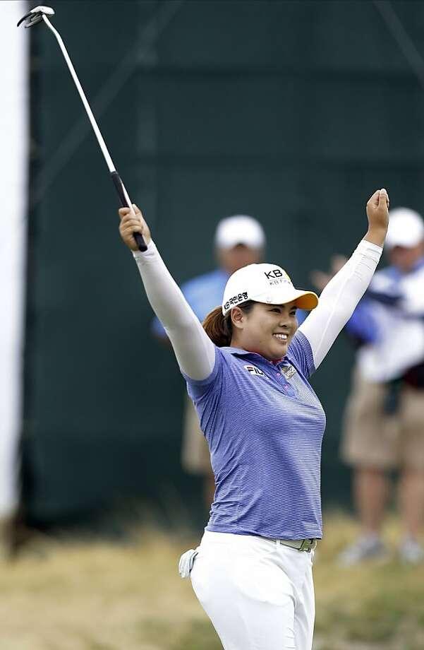 South Korea's Inbee Park earned her third major of 2013 by cruising in the U.S. Women's Open. Photo: Frank Franklin II, Associated Press