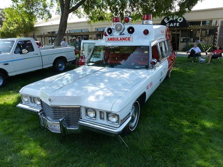 A 1972 Cadillac Superior ambulance. Owner: Dave Bockholt.