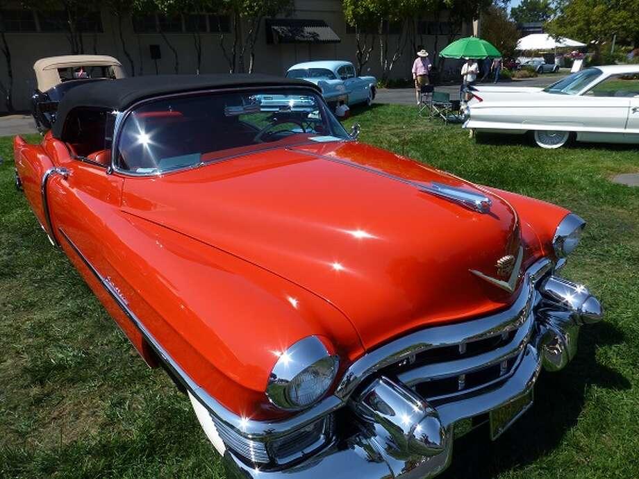 1953 Cadillac Eldorado convertible. Owner: Rick Ross.