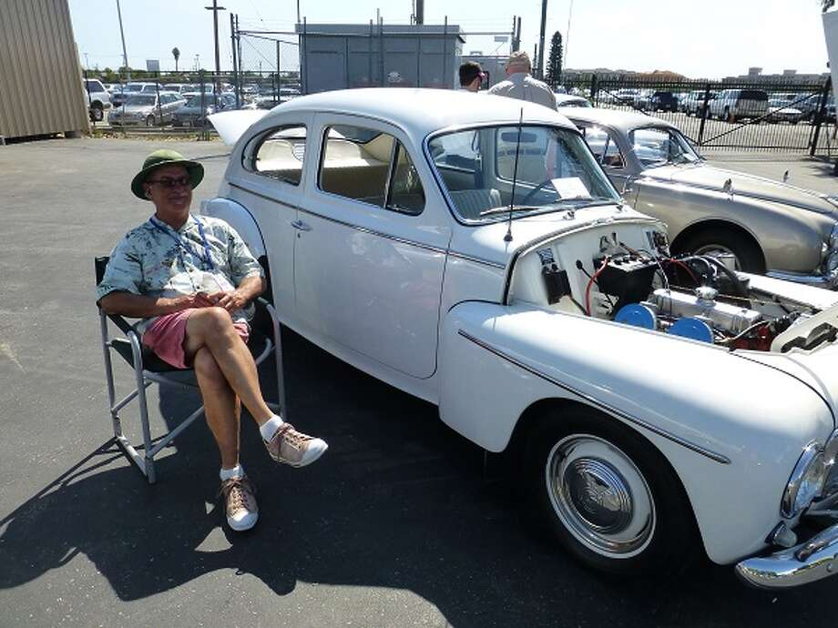 1959 Volvo PV 544. Its owner, Robert Fuller, said you don't see many of these in restored condition.
