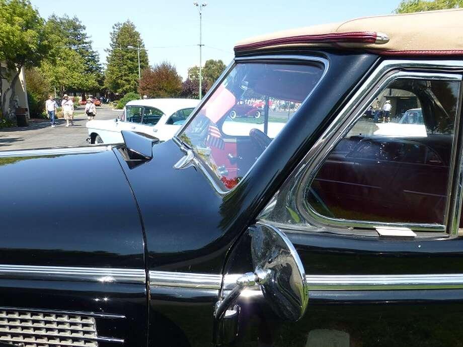 A 1937 Cadillac convertible. Owner: Donald Barnes.