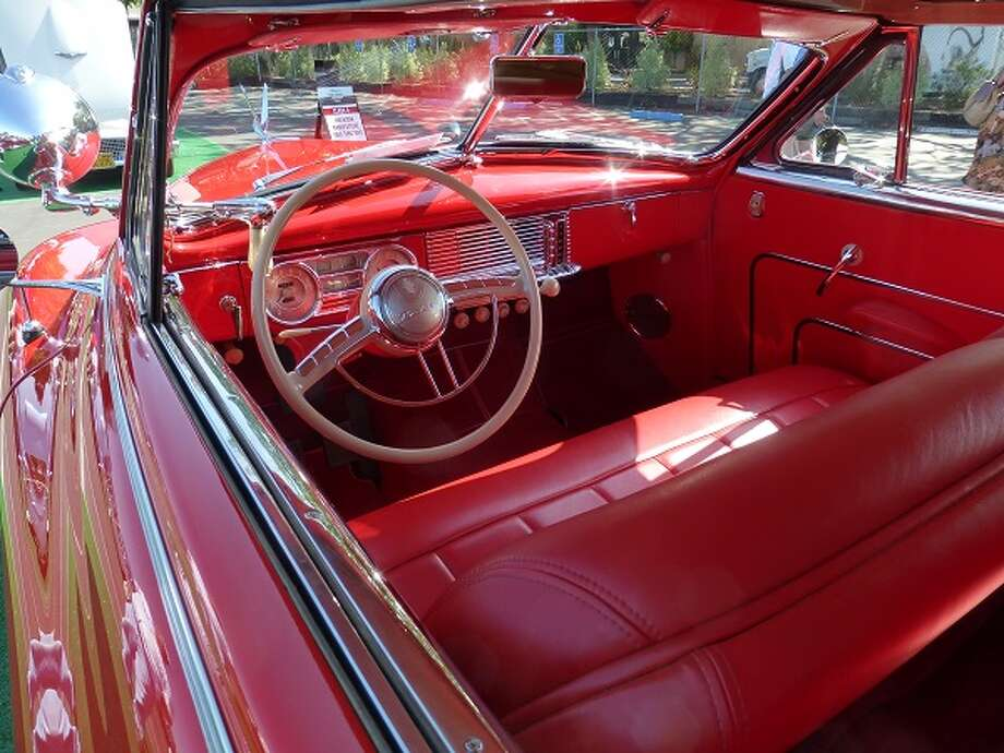 The interior of Bill Norton's 1949 Packard.
