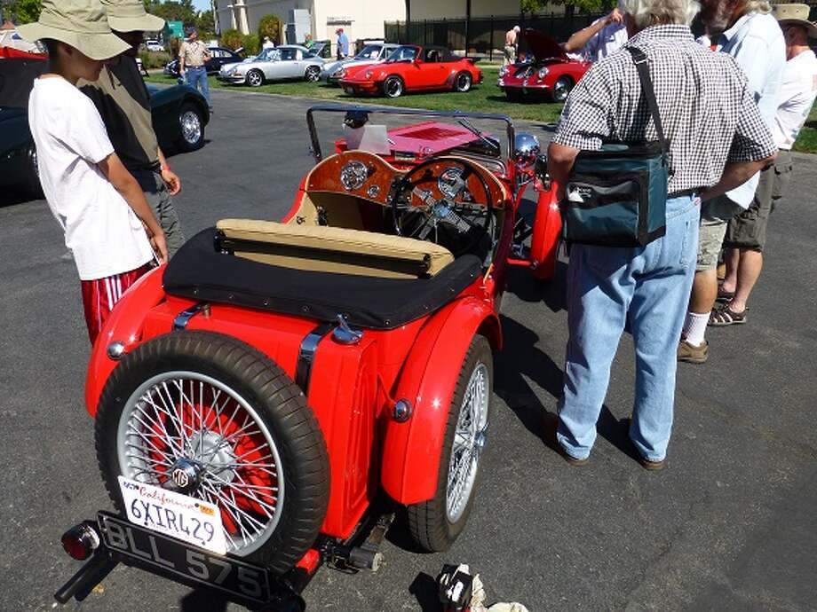 1935 MG, belonging to Peter Boot.