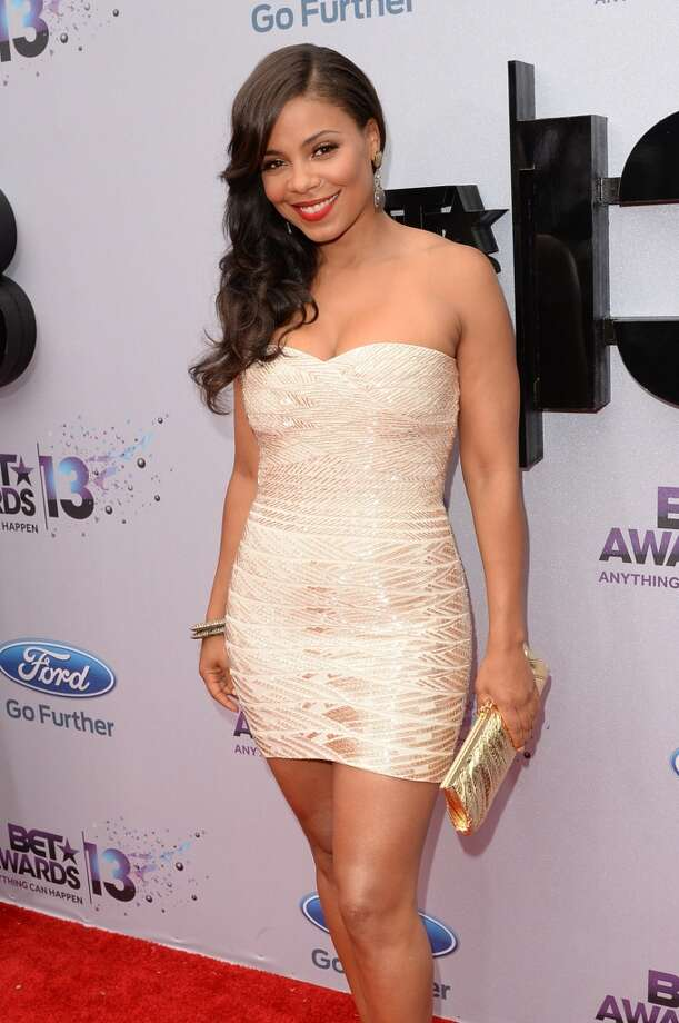 LOS ANGELES, CA - JUNE 30:  Actress Sanaa Lathan attends the Ford Red Carpet at the 2013 BET Awards at Nokia Theatre L.A. Live on June 30, 2013 in Los Angeles, California.  (Photo by Jason Merritt/BET/Getty Images for BET)