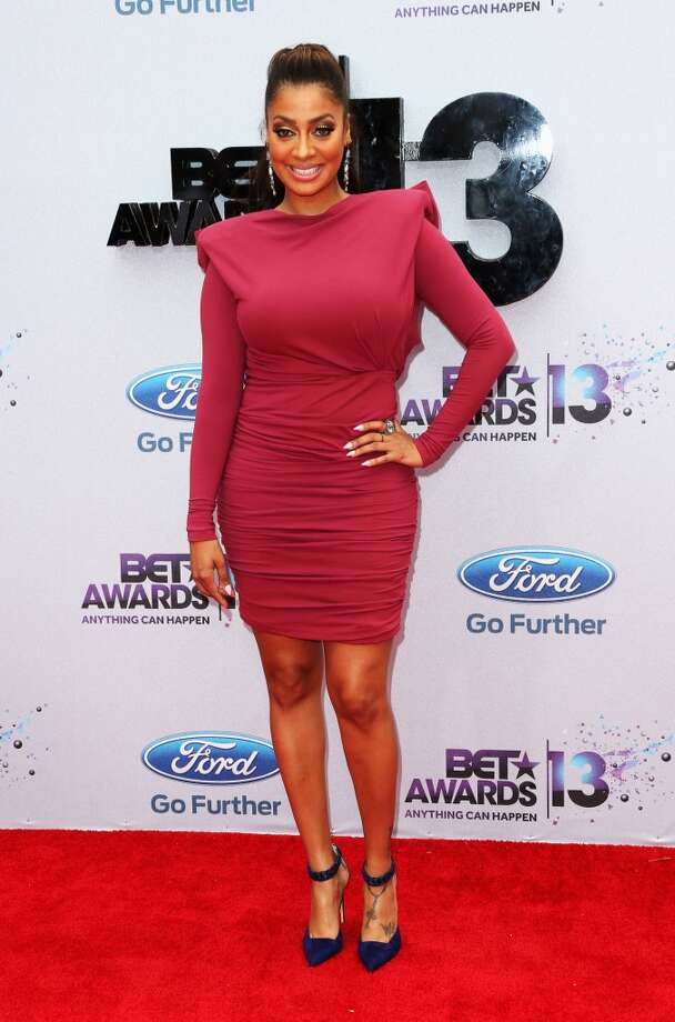 LOS ANGELES, CA - JUNE 30:  La La Anthony attends the 2013 BET Awards at Nokia Theatre L.A. Live on June 30, 2013 in Los Angeles, California.  (Photo by Frederick M. Brown/Getty Images for BET)