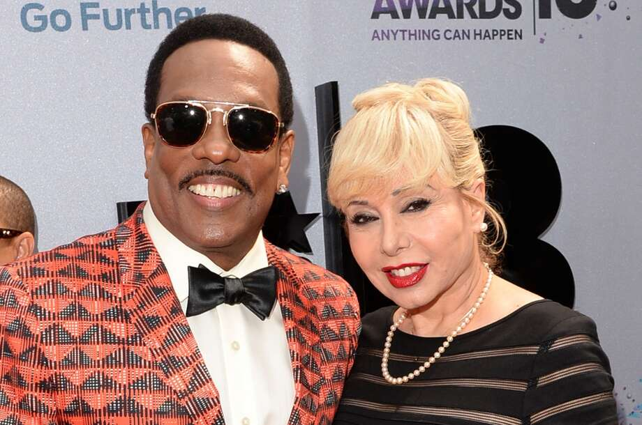 LOS ANGELES, CA - JUNE 30: (L-R) Singer Charlie Wilson and Mahin Wilson attend the Ford Red Carpet at the 2013 BET Awards at Nokia Theatre L.A. Live on June 30, 2013 in Los Angeles, California.  (Photo by Jason Merritt/BET/Getty Images for BET)