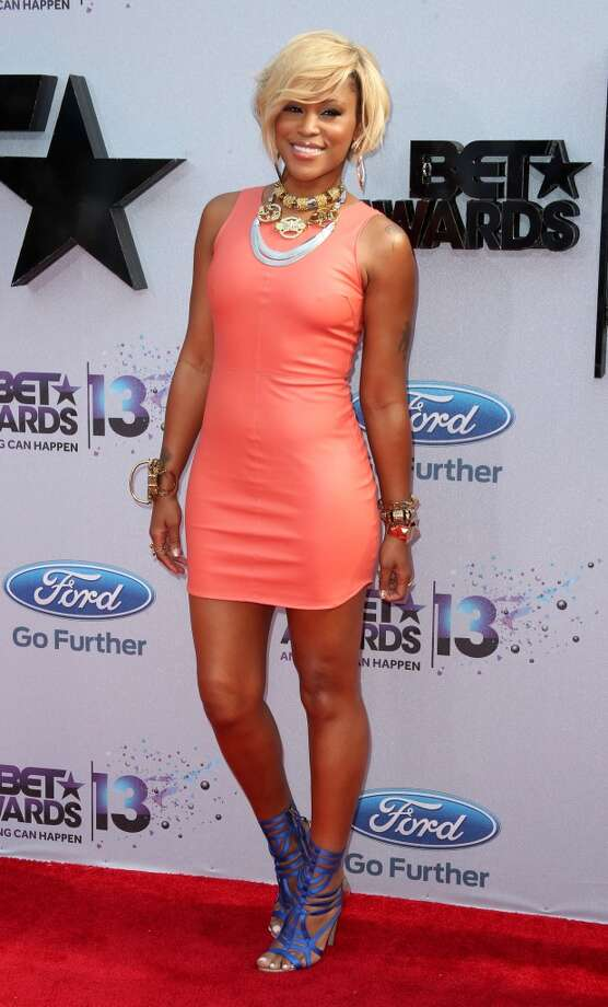 LOS ANGELES, CA - JUNE 30:  Recording artist Eve  attends the 2013 BET Awards at Nokia Theatre L.A. Live on June 30, 2013 in Los Angeles, California.  (Photo by Frederick M. Brown/Getty Images for BET)