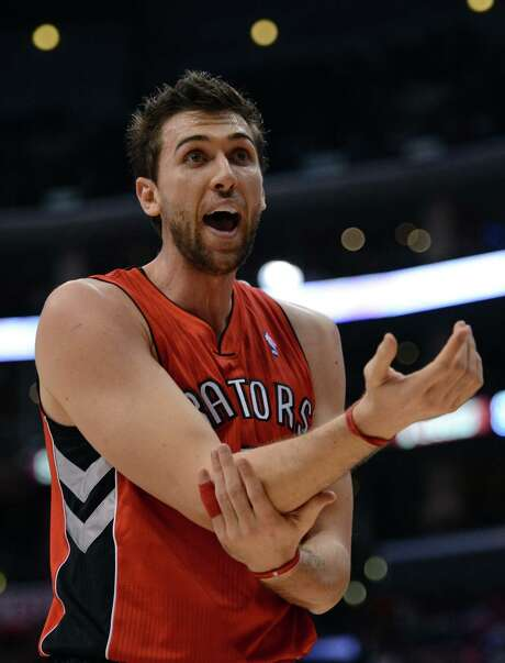 Andrea Bargnani has averaged 15.2 points during his career.