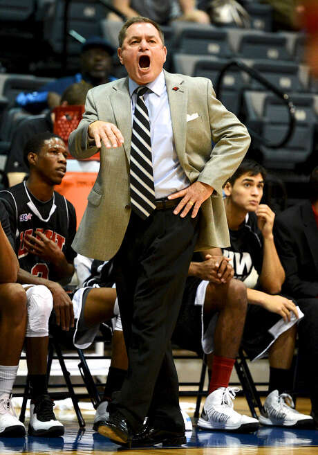 "Incarnate Word men's basketball coach Ken Burmeister says the move to Division I is ""tremendous."" Photo: John Albright / For The Express-News"