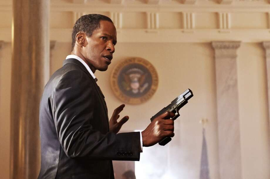 "President James Sawyer (Jamie Foxx)  ""White House Down"" (2013)  ""Get your hands off my Jordans!"""