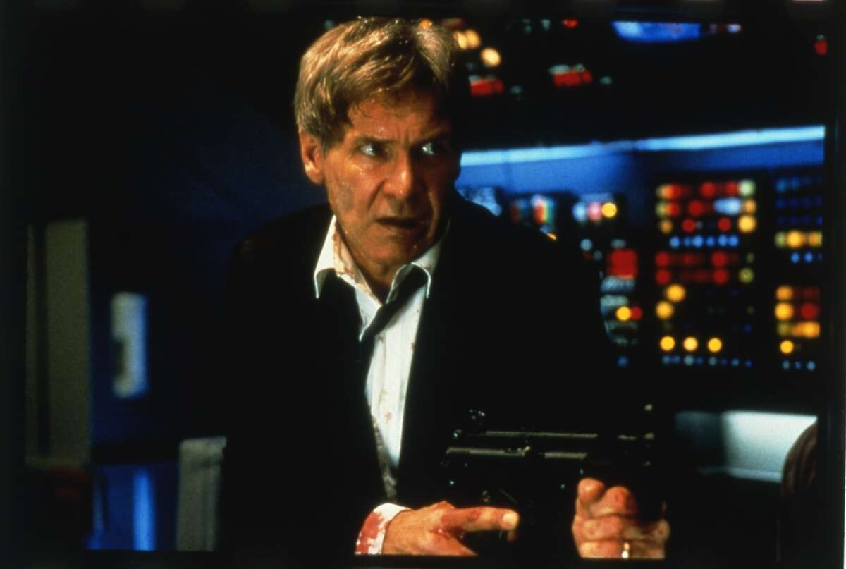 The tough guy President James Marshall (Harrison Ford) in 1997's