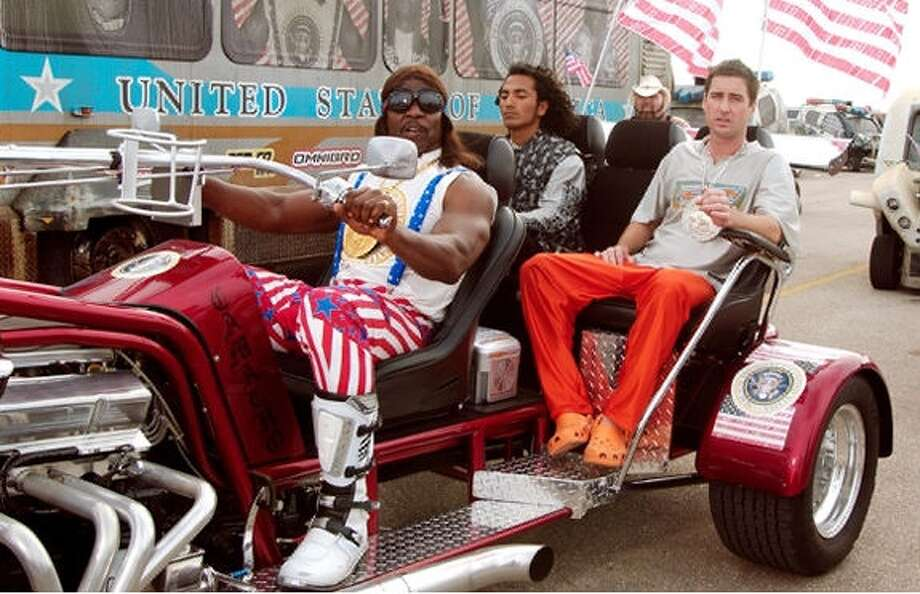 "Movies that are considered cult classicsPresident Dwayne Elizondo Mountain Dew Herbert Camacho (Terry Crews) ""Idiocracy"" (2006) ""I know (expletive is) bad right now, with all that starving (expletive), and the dust storms, and we are running out of french fries and burrito coverings. But I got a solution."""