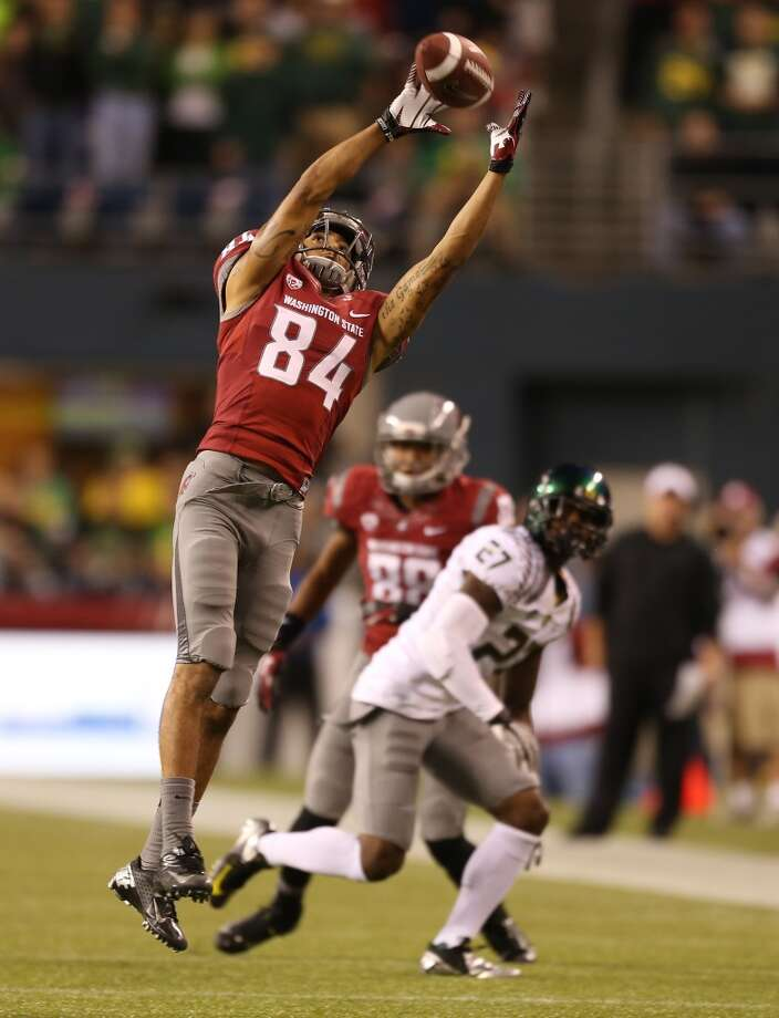 4. Will the 'Air-Raid' offense take flight this season? Mike Leach's famous 'Air-Raid' offense barely left the ground last season as the Cougars averaged just more than 20 points per contest. Despite ranking ninth in the nation in passing yards, the Cougars could not move the ball and score consistently enough to keep up with a weak defense. The Cougars will again rely heavily on the passing attack in 2013, but they'll look to incorporate different schemes -- including the pistol offense -- that should keep defenses guessing more. Add that with a versatile and talented receiving squad and Leach might see his 'Air-Raid' finally soar this season.