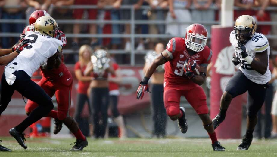 6. Will the Cougs' offense see more balance in 2013? The Cougars had the conference's No. 1 passing attack last season (in total yards), but they hardly ever ran the ball -- even when the team was in obvious running situations. The team only ran the ball 252 times all season -- almost 200 less times than the next highest number in the Pac-12 (425). That approach didn't yield the results many were hoping for, which raises the question: should the Cougars look to the ground game more in 2013?   However, when the Cougs did run the ball, they were dismal, netting only 1.4 yards per carry over the season. Look for the team to improve its rushing attack to add balance to its offense in 2013.