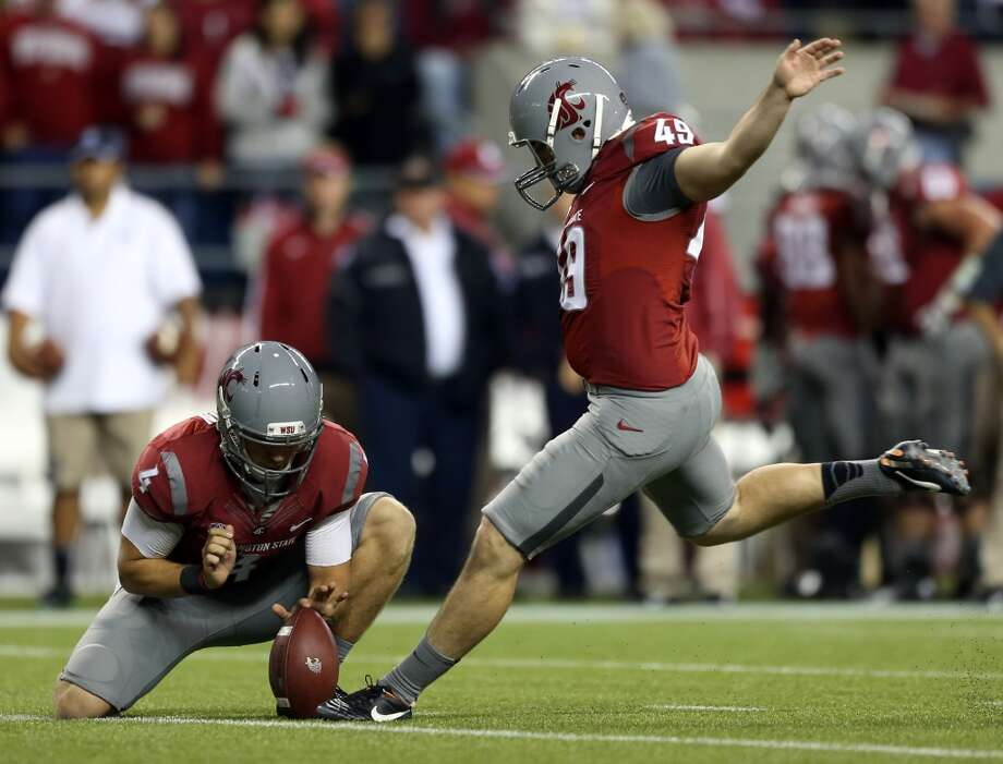 7. Good things come in three's The Cougars' most potent offensive weapon this season might come... at the kicking position?   That's right. Don't be surprised if senior kicker Andrew Furney leads the team in scoring at season's end. After a breakout junior season in which he booted a 60-yard field goal and a game-winner in the Apple Cup, Furney will look to continue his sting of success in 2013. He should have plenty of opportunities to do that as the Cougars make a habit of moving the ball down the field.