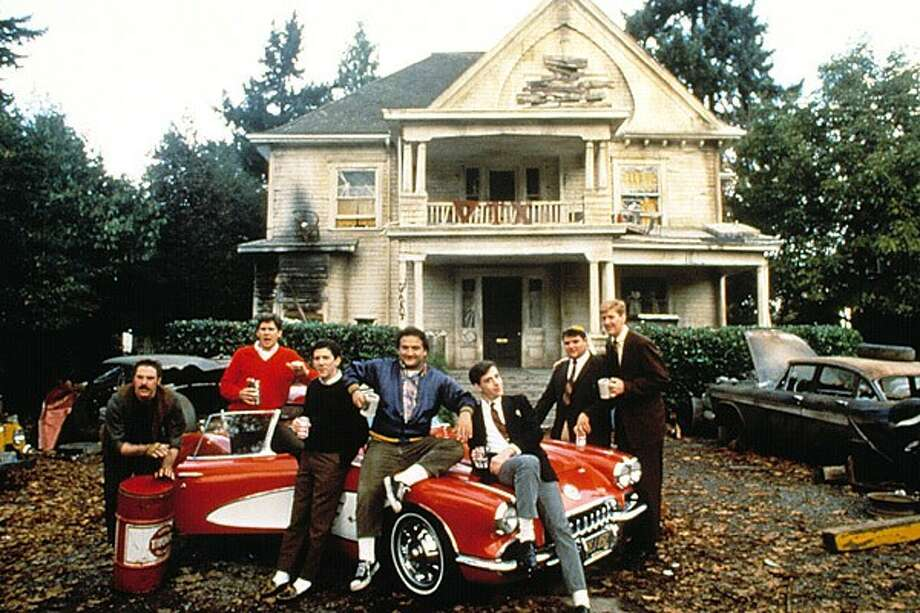 """Animal House"" filmed on campus"