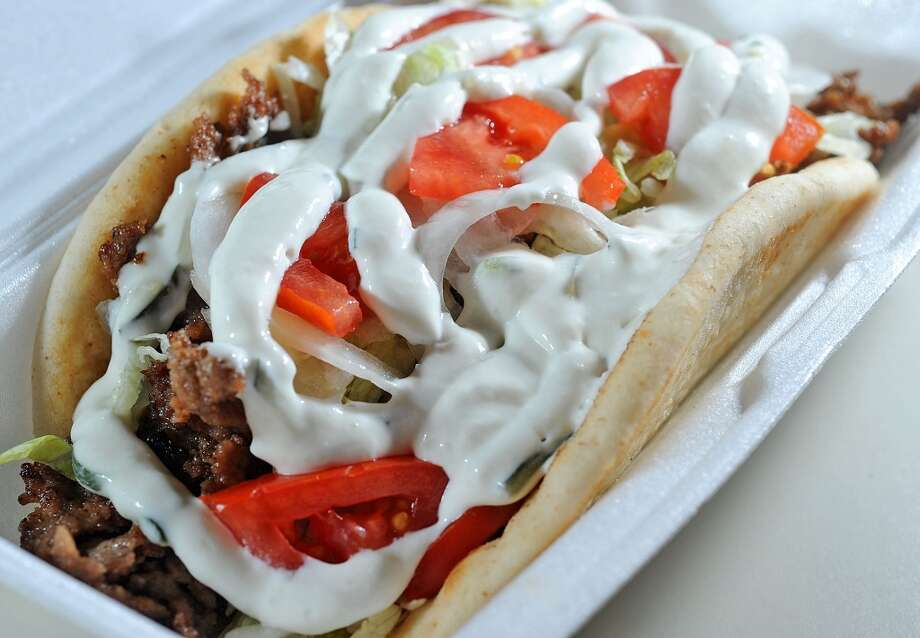 Gyro at Chi-Town Dawg. Photo taken June 20, 2013 Guiseppe Barranco/The Enterprise