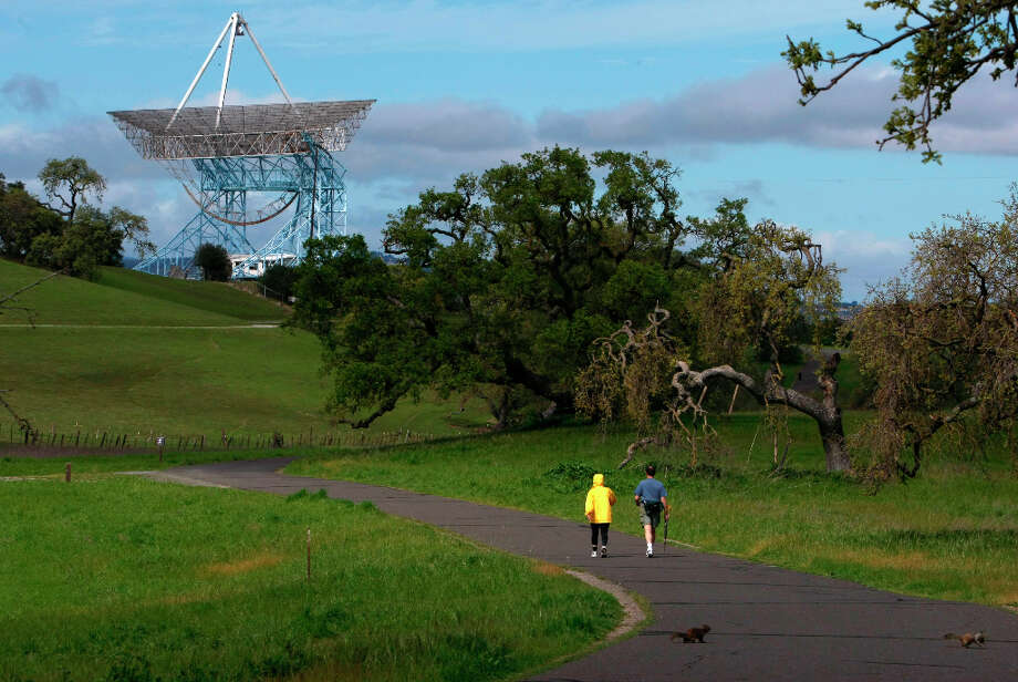 Have been the last one off the trail at The Dish. Photo: Michael Macor, The Chronicle / The Chronicle