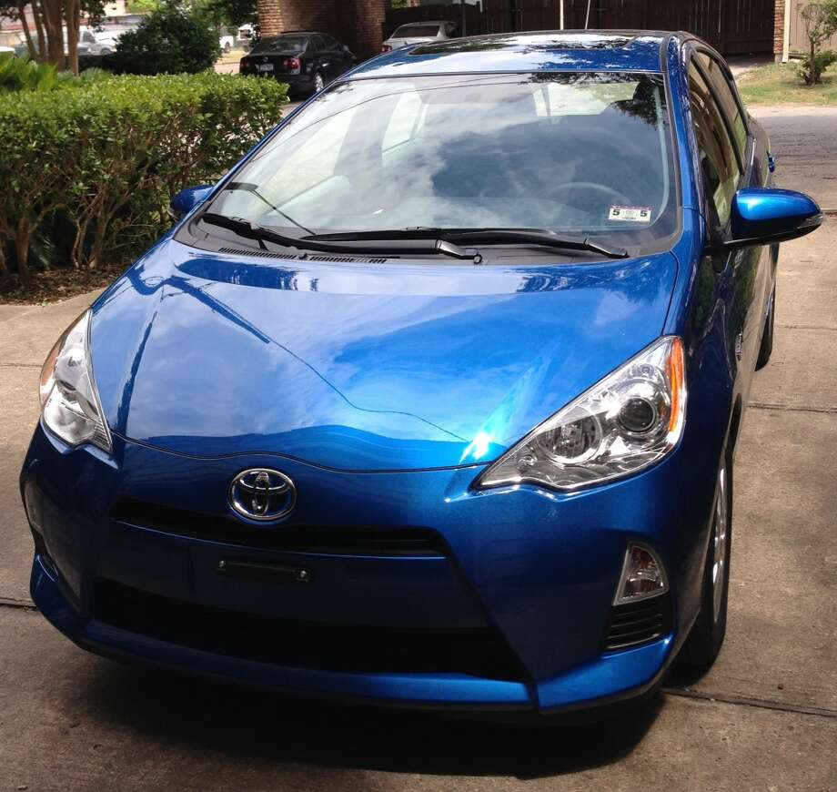 Front view, 2013 Prius C