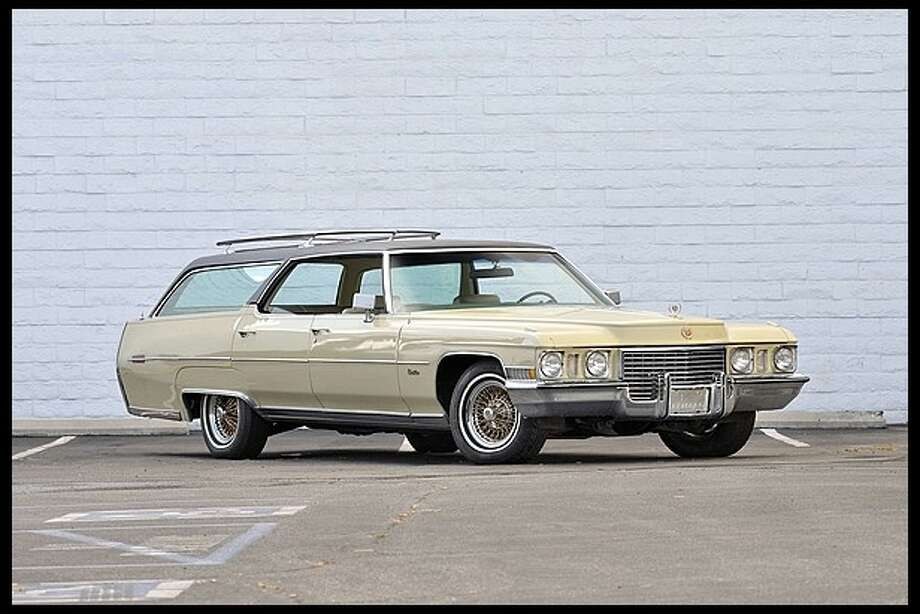Elvis Presley purchased this custom Cadillac Estate Wagon in 1972 and drove it until his death in 1977. It was originally auctioned off with other Presley possessions in 1999. Mecum is auctioning the car in July.