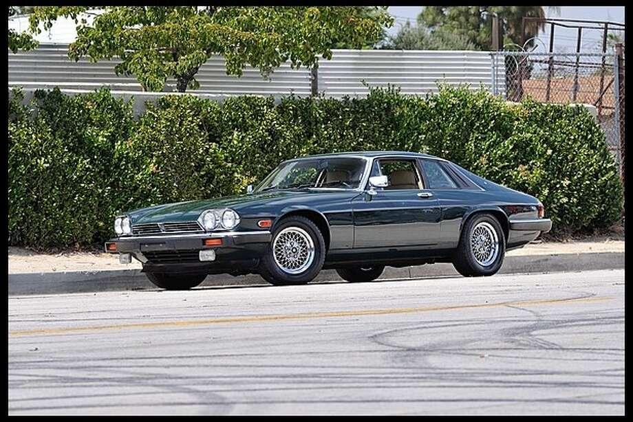 Frank Sinatra drove this 1989 green Jaguar XJS while he lived in Palm Springs. The car was sold at an estate sale following the singer's death. Mecum is putting the car up for auction this July.
