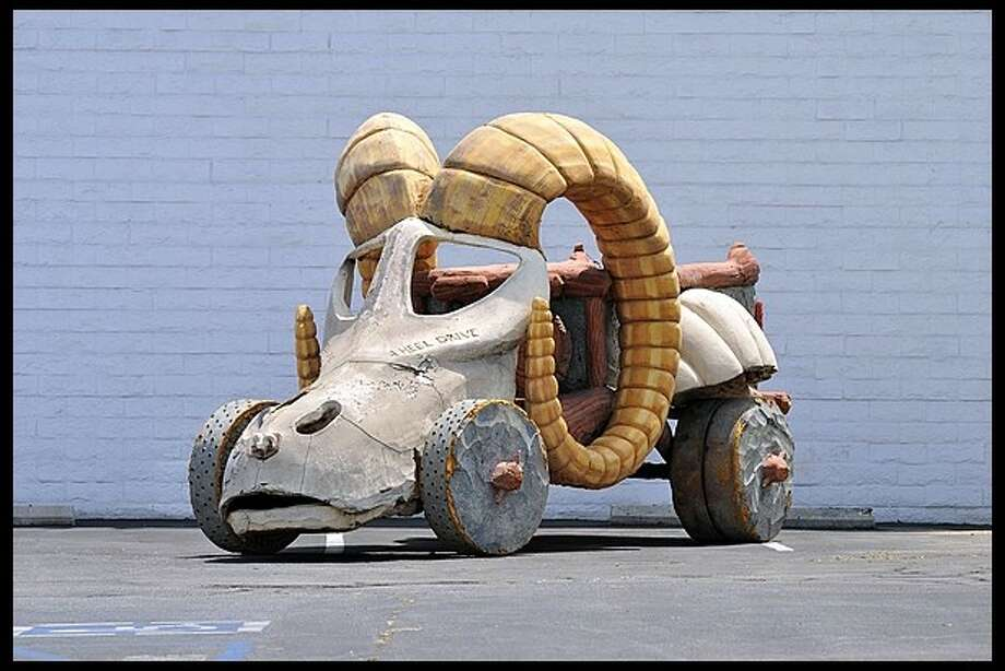 A custom car made for the 1994 Flintstones movieis up for auction. It will be sold at auction in July by Mecum.