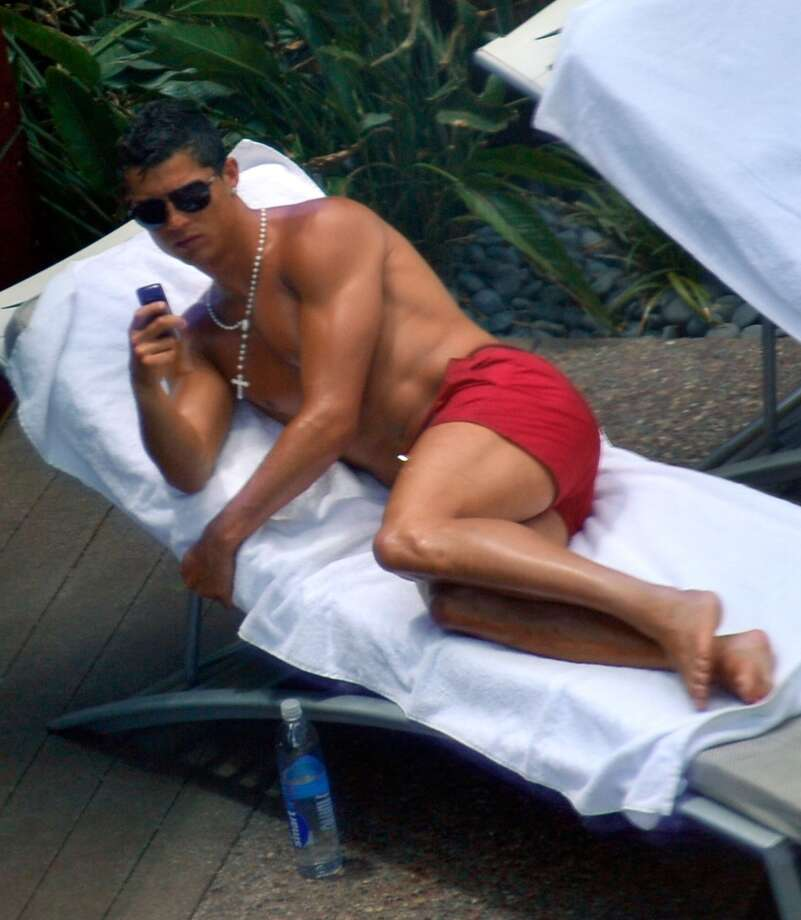 Soccer player Cristiano Ronaldo seen at Palms Place Hotel & Spa on June 14, 2009 in Las Vegas, Nevada.  (Photo by Charley Gallay/FilmMagic)
