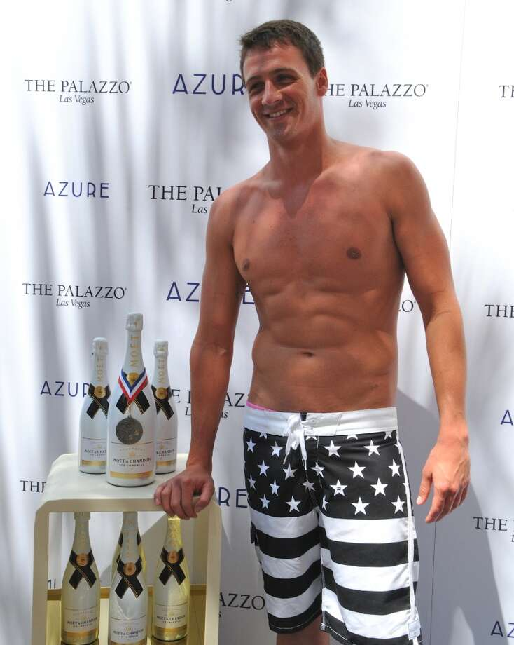 Ryan Lochte at Azure at The Palazzo on August 18, 2012 in Las Vegas, Nevada. (Photo by Mindy Small/FilmMagic)