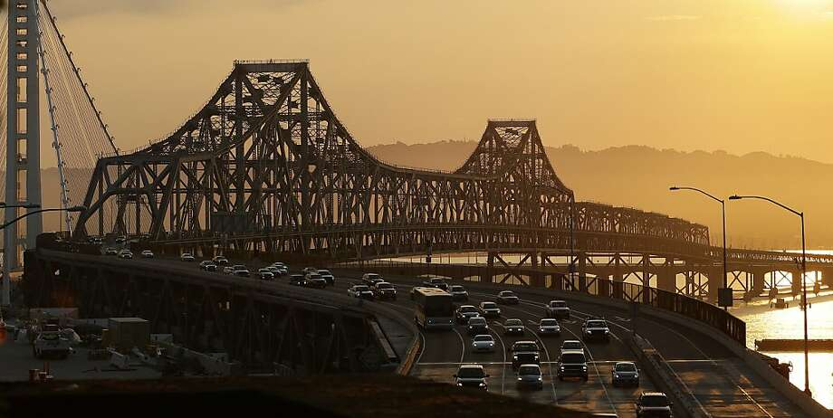 Daybreak nightmare: BART strike creates huge traffic jams in the Bay Area. Photo: Ben Margot, Associated Press