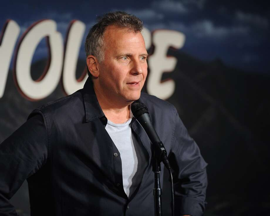 Comedian Paul Reiser performs during his appearance at The Ice House Comedy Club Jan. 12, 2012, in Pasadena, Calif. Reiser, known to many for his role as Paul Buchman in the NBC sitcom Mad About You will be in Stamford, Conn., on Nov. 2 to perform during a benefit evening for Mikey's Way Foundation at the Palace Theatre. (Photo/ Michael Schwartz/WireImage)