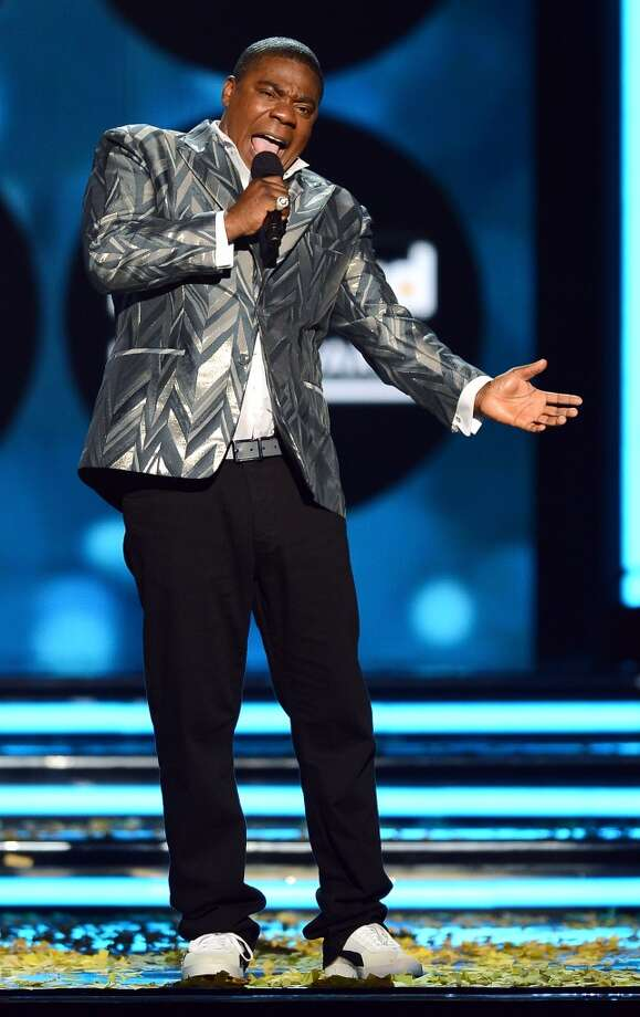 Actor/comedian Tracy Morgan hosts the 2013 Billboard Music Awards at the MGM Grand Garden Arena on May 19, 2013, in Las Vegas, Nevada.  (Photo/Ethan Miller/Getty Images)